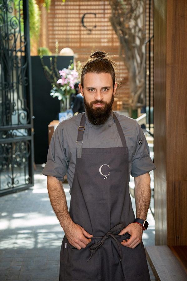 Diego Niño - Jefe de Cocina
